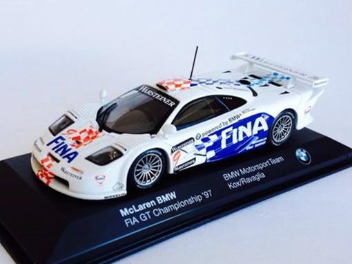 McLaren: BMW FIA GT #9 Championship (1997) - BMW Motorsport Team - Kox / Ravaglia - 1:43
