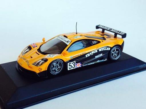 McLaren: F1 GTR Le Mans #53 (1996) - Giroix Racing - Giroix / Deletraz / Sala - 1:43