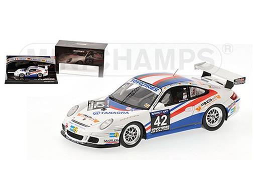 Porsche: GT3 Cup Land Motorsport - Winner 24h Dubai (2009) - Tilke / Abergel / Kentenich / Dzikevic - 1:43