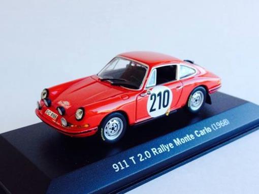 Porsche: 911 T 2.0 #210 - Rallye Monte Carlo (1968) - 1:43