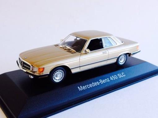 Mercedes-Benz: 450 SLC - Dourada - 1:43