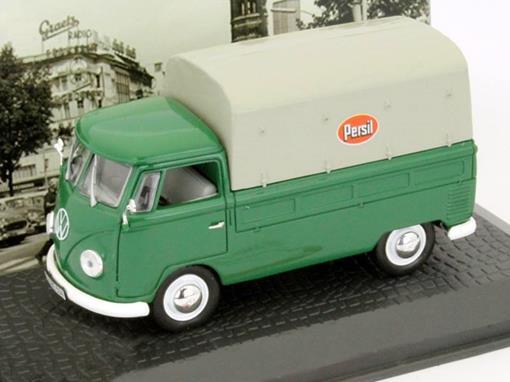 Volkswagen: Kombi Pritschenwagen T1b / Kombi (1958) - Persil - 1:43