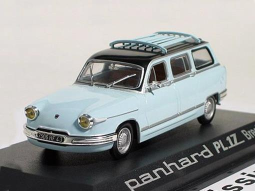 Panhard: PL 17 Break - Azul - 1:43