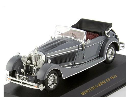 Mercedes-Benz: SS (1933) - Cinza - 1:43