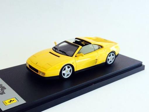 Ferrari: 348 TS (1989) - Amarela - 1:43