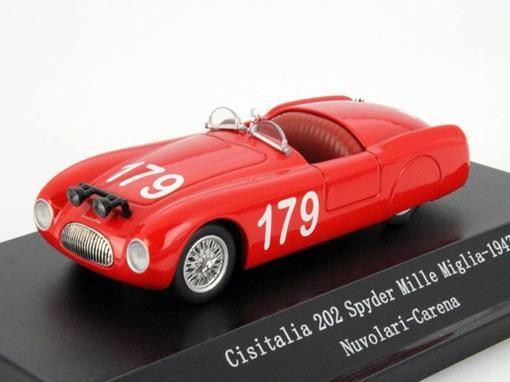 Cisitalia: 2020 Spyder #179 Mille Miglia (1947) - 1:43