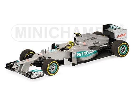 Mercedes AMG Petronas: F1 W03 - Saison (2012) - Nico Rosberg - 1:43