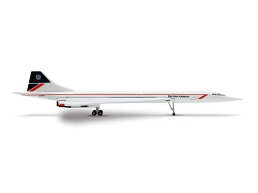 British Airways: Concorde - 1:500