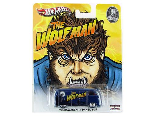 Volkswagen: Kombi T1 Panel Bus - The Wolf Man (Lobisomen) - Home Of The Original Monsters - 1:64