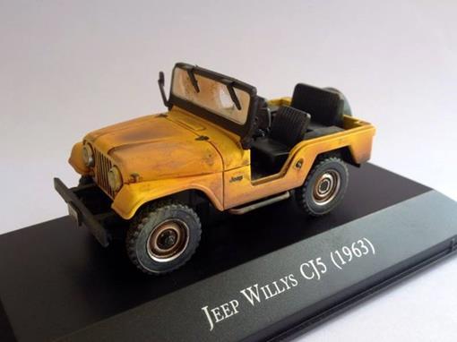 Jeep: Willys CJ5 (1963) - Sem Capota -