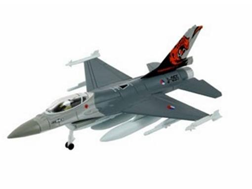 General Dynamics: F-16 Fighting Falcon - Kit p/ montar - 1:100