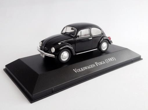 Volskwagen: Fusca (1985) - Preto - 1:43