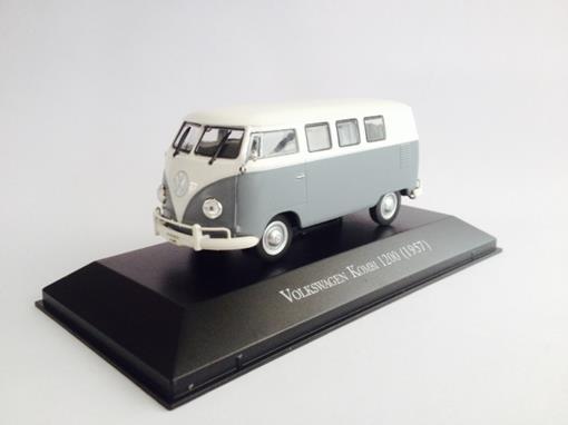 Volkswagen: Kombi 1200 (1957) - Branca/Cinza - 1:43