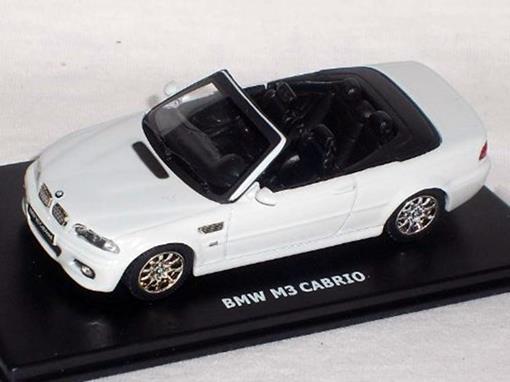 BMW: M3 Cabrio - Conversível - Branco - 1:43