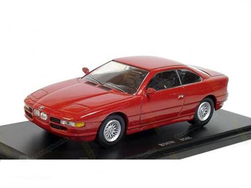 BMW: 850i - Vermelho - 1:43