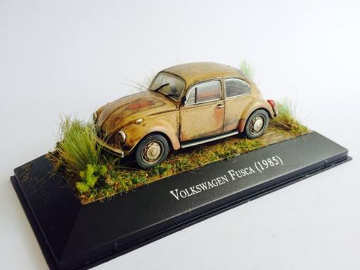 Diorama: Volkswagem Fusca (1985)