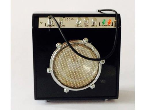 Amplificador - Pequeno - Preto