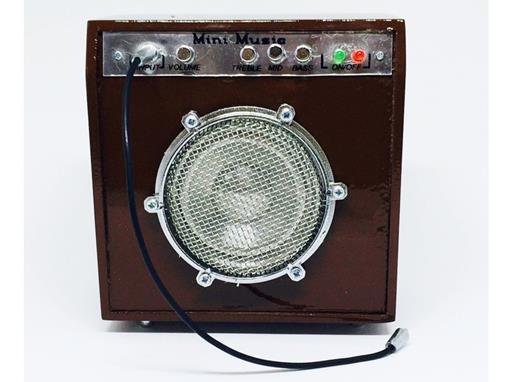 Amplificador - Pequeno - Marrom