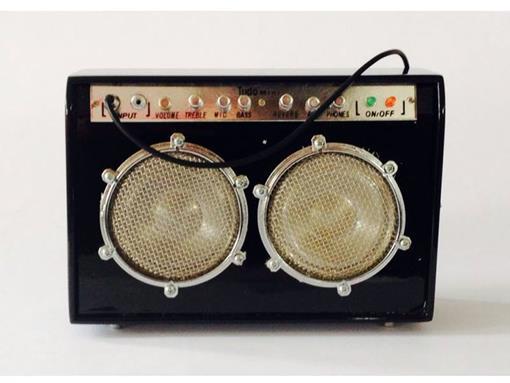 Amplificador - Médio- Preto