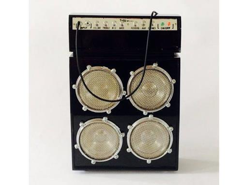 Amplificador - Grande - Preto