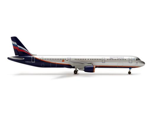 Aeroflot Russian Airlines: Airbus A321 - 1:500