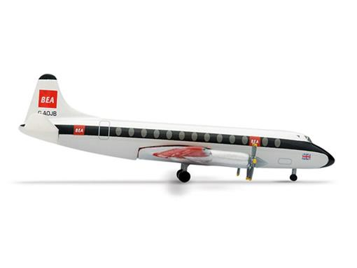 British European Airways: Vickers Viscount 802 - 1:500