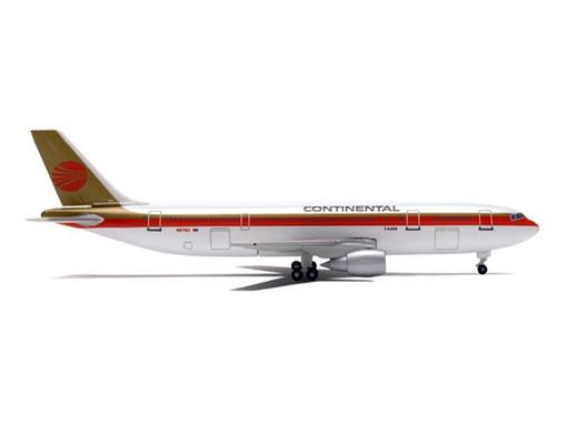Continental Airlines: Airbus A300B4 - 1:500