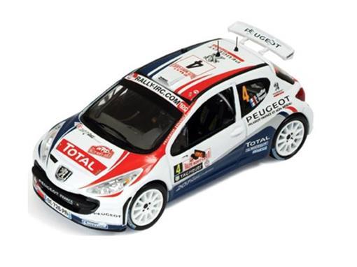 Peugeot: 207 S2000 - #4 B. Bouffier - X. Panseri - Winner Rally Monte Carlo (2011) - 1:43