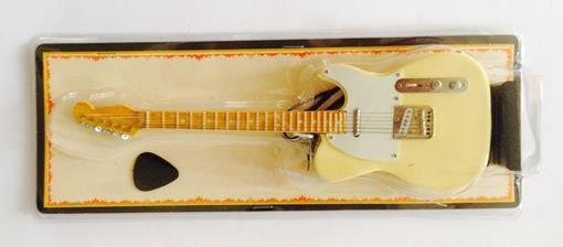 Miniatura de Guitarra Telecaster - Creme (Blister) - 1:4