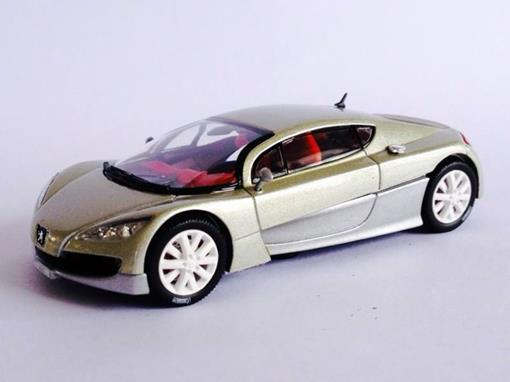 Peugeot: Concept Cars RC - Champagne - 1:43