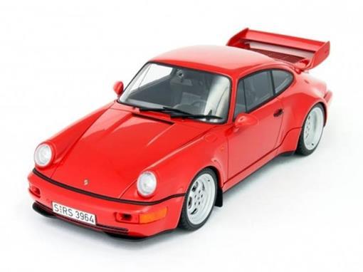 Porsche: 911 (964) RS 3.8 - Vermelho - 1:18