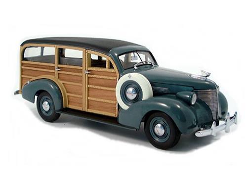 Chevrolet: Woody Wagon (1939) - Verde - 1:18