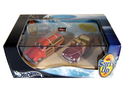 Set: Ford Woody (1949) / Ford Conversível (1946) - Surf's Up - 1:64