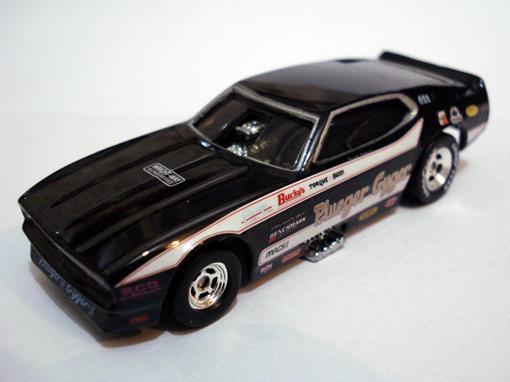 Ford: Mustang F/C - Plueger e Gyger Mustang (1971) - Drag Strip Demons - 1:64