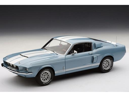 Ford: Mustang Shelby GT500 (1967) - Azul - 1:18