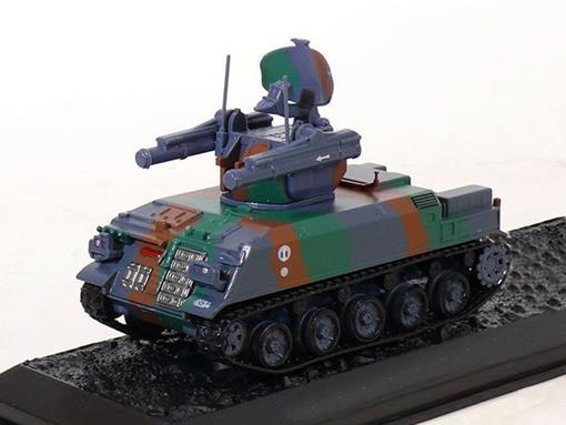 French Army: AMX30 Roland - 57e Régiment d' Artillerie Antiaérien - Marne (France, 1991) - 1:72