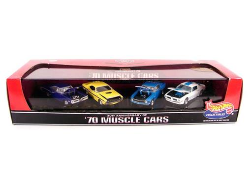 Set: Hot Wheels - 30th Anniversary Of '70 Muscle Cars - Series 4 -  1:64