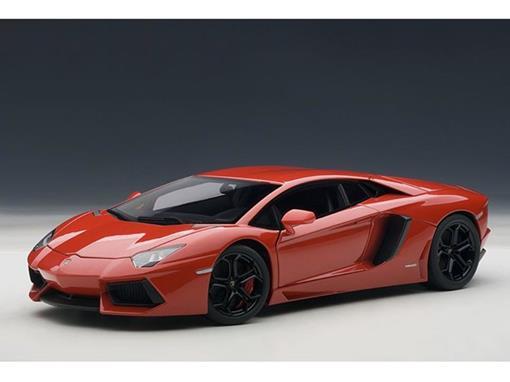 Lamborghini: Aventador LP700-4 (2011) - Vermelha - 1:18