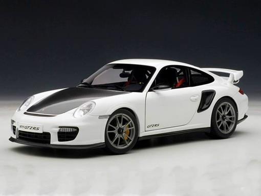 Porsche: 911 (997) GT2 RS - Branca e Preta - 1:18