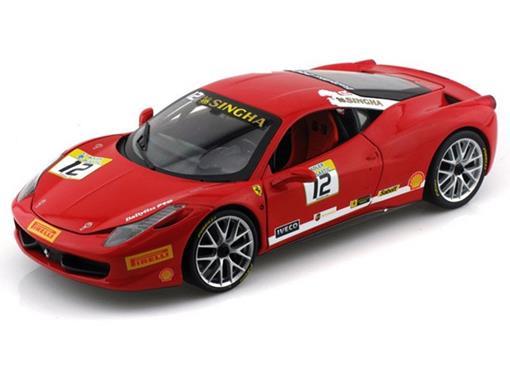 Ferrari: 458 Itália Challenge #12 (2011) - Vermelha - 1:18