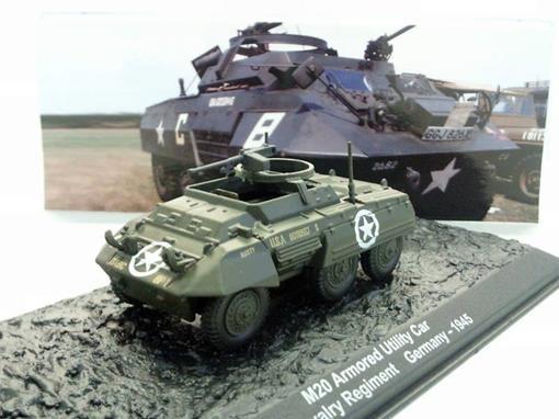 US Army: M20 Armored Utility Car - 6th Cavalary Regiment - Germany (1945) - 1:72