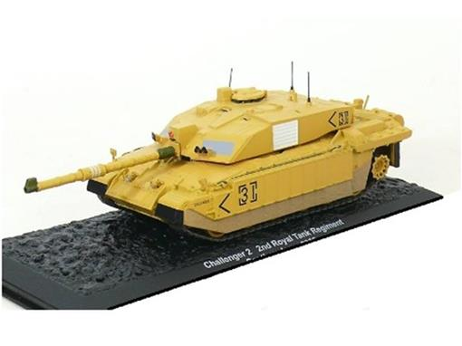 British Army: Challenger II - 2nd Royal Tank Regiment - Southern Iraq (2003) - 1:72