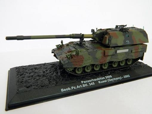 German Army: Panzerhaubitze 2000 - Beob.Pz.Art.Btl. 345 - Kusel (Germany) 2002 - 1:72