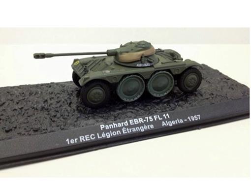 French Army: Panhard EBR-75 FL 11 - 1er REC Légion Étrangère (Algeria, 1957) - 1:72
