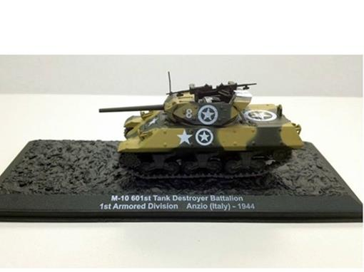 U.S. Army: M-10 601st Tank Destroyer Battalion - 1st Armored Division - Anzio (Italy, 1944) - 1:72