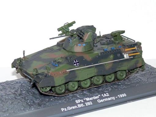 German Army: SPz Marder 1 A2 - PzGrenBtl 292 (Germany, 1990) - 1:72