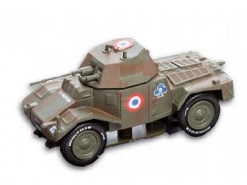 French Army: Automitrailleuse Panhard 178 - 1è  Régiment de Cuirassiers (France, 1940) - 1:72