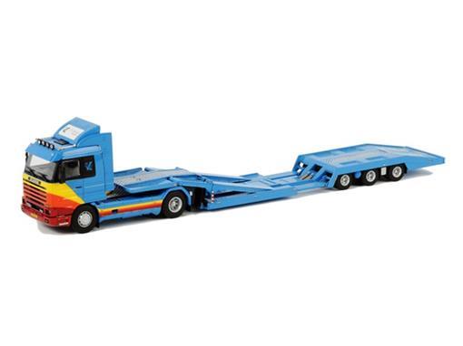 Scania: R Streamline 4x2 - Zandbergen - Trucktransporter - 1:50
