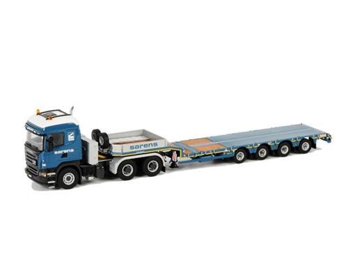 Scania: R Highline 6x4 - Semi Lowloader (Prancha) 4 Axle -