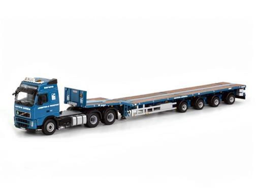 Volvo: FH2 Globetrotter 6x4 + Telestep Trailer (4 Axle) -